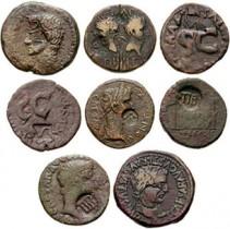 Countermarks Gegenstempel Auf Römischen Münzen Römische Münzen