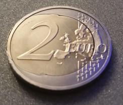 2 Euro Gedenkmünze 25 Jahre Tag Der Deutschen Einheit 2 Euro